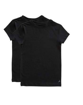 Ten Cate Jongens T-shirt 2Pack Black 2-10Y Boys