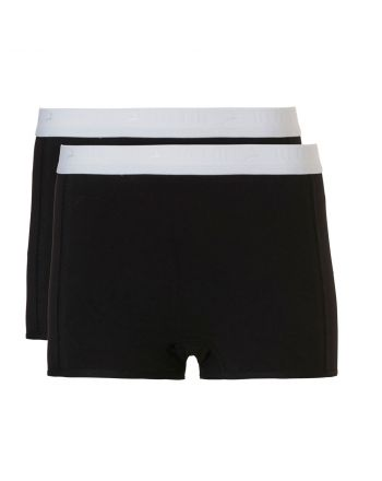 Ten Cate Meisjes Shorts 2Pack Black 10-18Y Teens