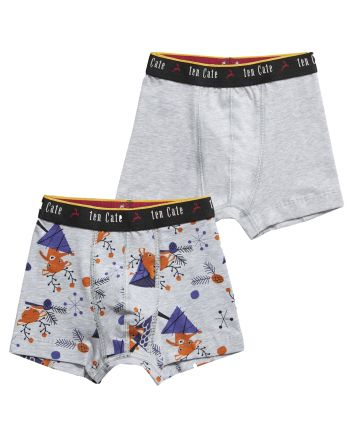 Ten Cate Jongens Boxershort Winter Deer 2Pack 3-10Y