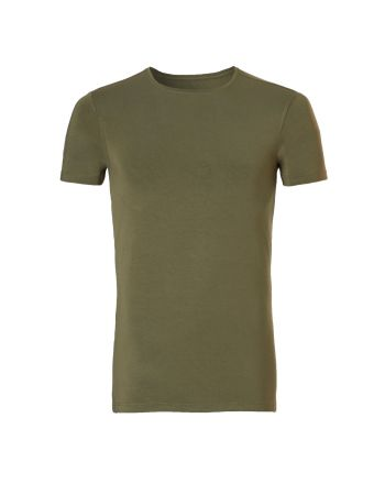 Ten Cate Heren Bamboo  T-shirt Burnt Olive