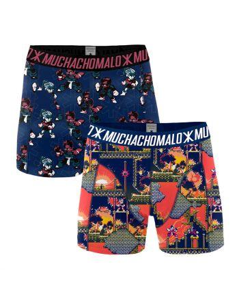 MuchachoMalo Super Nintendo 2Pack Heren Boxershorts