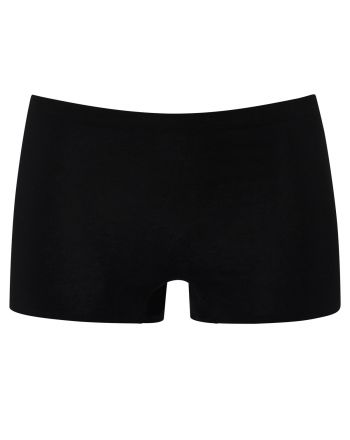 MEY Dames Natural Second Me Shorts Zwart 79529