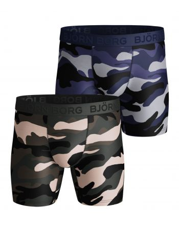 Bjorn Borg Boxershorts Polyamide BB 2Pack Performance Peacefull Rosin Shorts