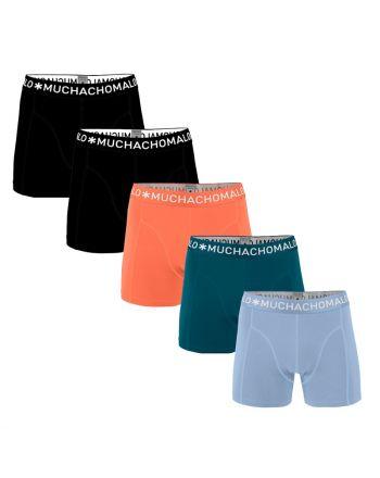 MuchachoMalo Hello Sunshine 5PACK SUPER ACTIE SOLID13 Heren Boxershorts
