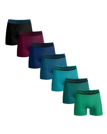MuchachoMalo Solid 7PACK LCSOLID 25 MIX Heren Boxershorts