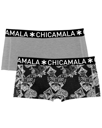 ChicaMala 2Pack CASINO ROYALE Short Meisjes