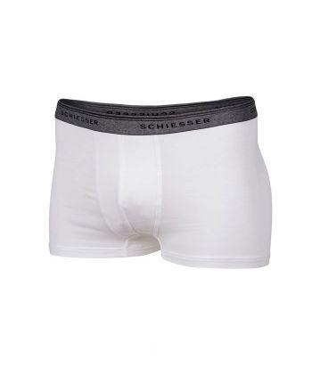 Schiesser jongens 1pack wit