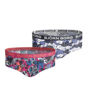 Björn Borg hipster 2pack Flowers & Blocks
