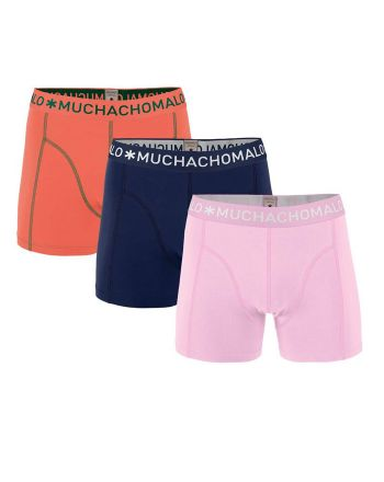 Muchachomalo heren 3pack Solid 217
