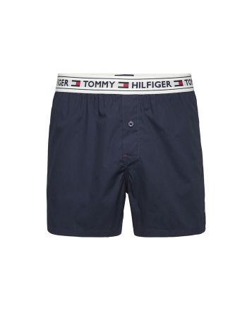 Tommy Hilfiger heren woven boxer navy