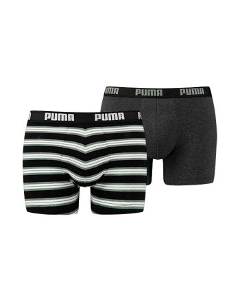 Puma heren 2pack Retro Stripe Green/black
