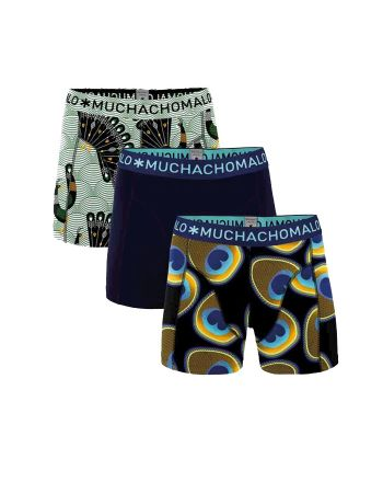 Muchachomalo jongens 3pack Proud as a Peacock
