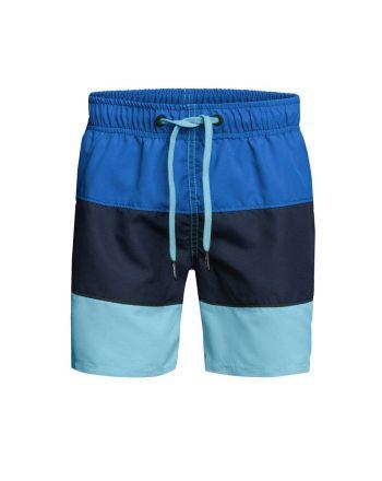Björn Borg jongens zwemshort Colourblock Blue