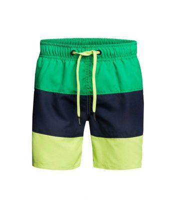 Björn Borg jongens zwemshort Colourblock Green
