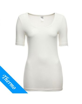 Ten Cate Vrouwen Thermo T-Shirt Wit