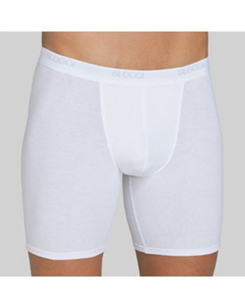 Sloggi Men Basic Long Boxershort White