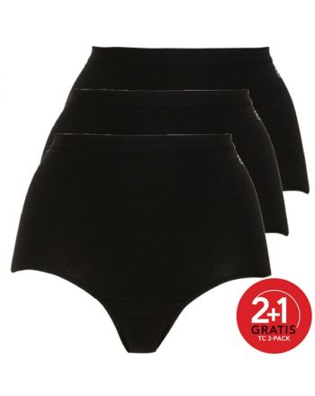 Ten Cate Vrouwen Maxi Zwart 2+1 Gratis 3pack