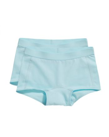 Ten Cate Meisjes Short 2Pack Iced Aqua 2-6Y