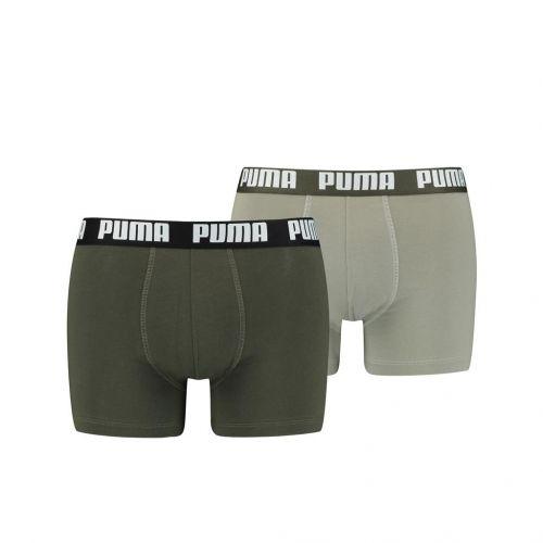 Puma Boxershort Duopak Dark Green Combo