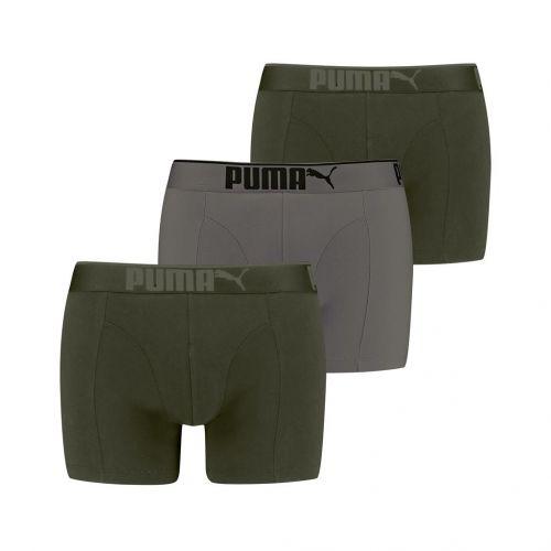 Puma Boxershort Lifestyle 3Pack Dark Green Combo
