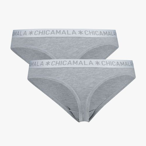 ChicaMala BASIC String Grijs 2Pack Dames Ondergoed