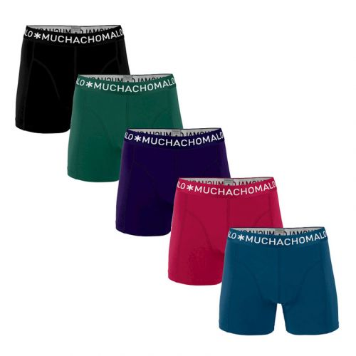 MuchachoMalo Hello Moonlight 5PACK SUPER ACTIE SOLID20 Heren Boxershorts