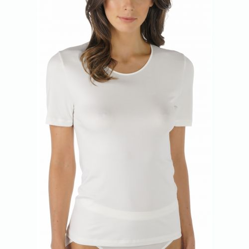 MEY Dames Emotion T-Shirt Champagne 56201
