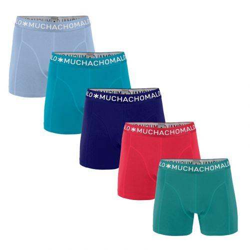 MuchachoMalo Hello Sunshine 5PACK SUPER ACTIE SOLID17 Heren Boxershorts