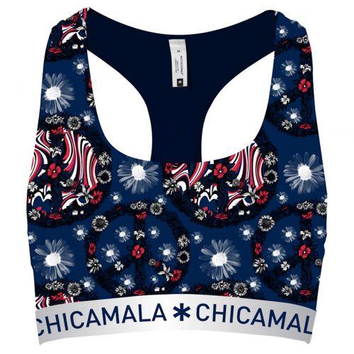 ChicaMala FLOWER POWER Racerback Top Meisjes Ondergoed