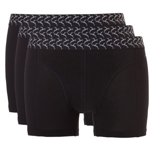 Ten Cate Mannen Basic Short Zwart 2+1 Gratis 3pack!