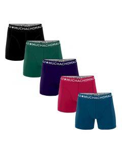 MuchachoMalo Hello Moonlight 5PACK SUPER ACTIE SOLID20 Heren Boxershorts