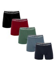 MuchachoMalo Hello Moonlight 5PACK SUPER ACTIE SOLID19 Heren Boxershorts