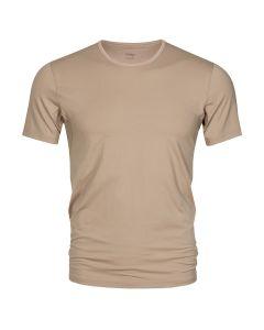 MEY Heren T-Shirt Crew Neck Nude Dry Cotton Het Eronderhemd Business Shirt 46082