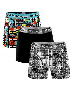 MuchachoMalo 3Pack COLOR TELEVISION Jongens Boxershorts