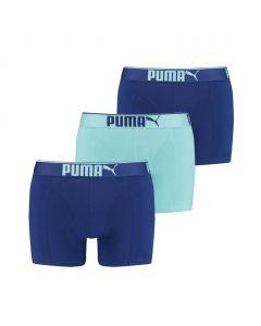 Puma Boxershort Lifestyle 3Pack Blue Combo