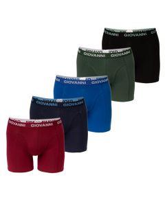 Giovanni Boxershorts CLOUDY 5Pack Heren Ondergoed