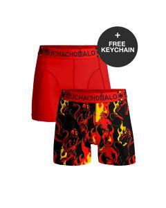 MuchachoMalo EK Belgie Duopack Heren Boxershorts incl keychain