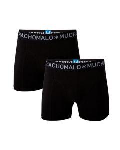 Muchachomalo heren 2pack Zwart