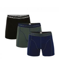 Muchachomalo jongens 3pack Solid 186