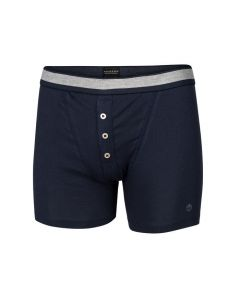 Schiesser heren retro-rib short navy