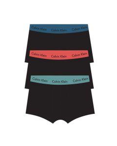 Calvin Klein heren 3pack Lowrise Trunk Black Blue Red